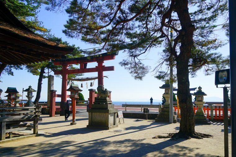 近江の厳島「白髭神社」