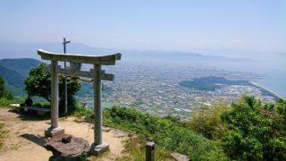 香川県・高屋神社(天空の鳥居)
