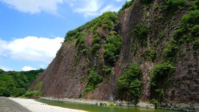 和歌山観光|古座川町「一枚岩」