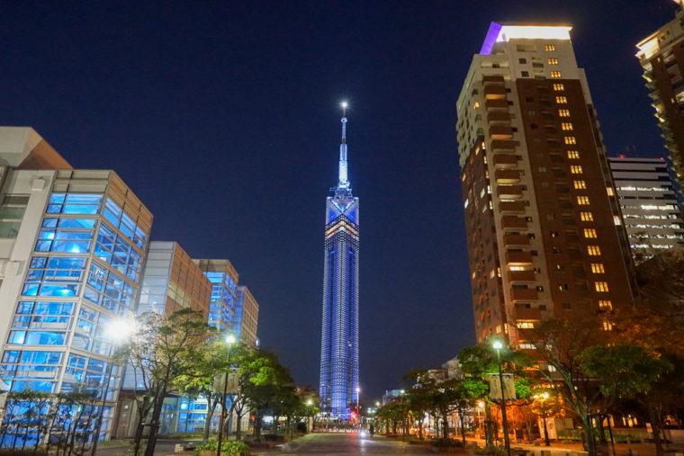 佐賀バルーンフェスタ旅行 福岡タワー