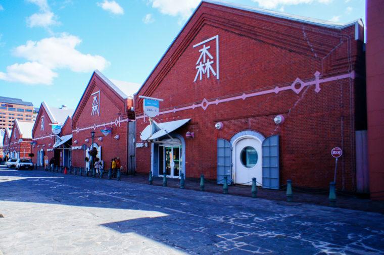 北海道函館旅行|金森赤レンガ倉庫
