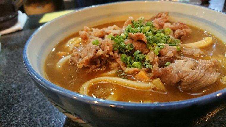 香川さぬきうどん|鶴丸のカレーうどん