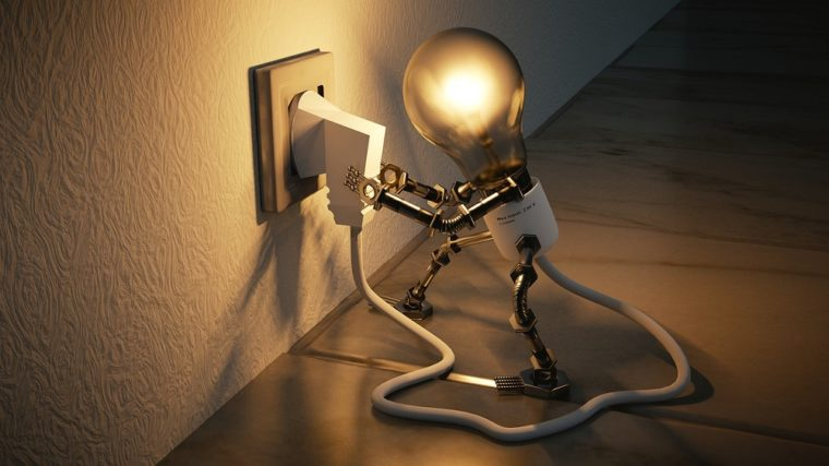 停電時自動点灯ライト