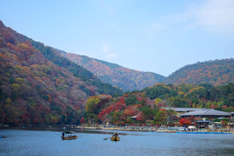 嵐山の紅葉