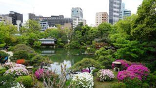 兵庫県神戸市「相楽園つつじ」
