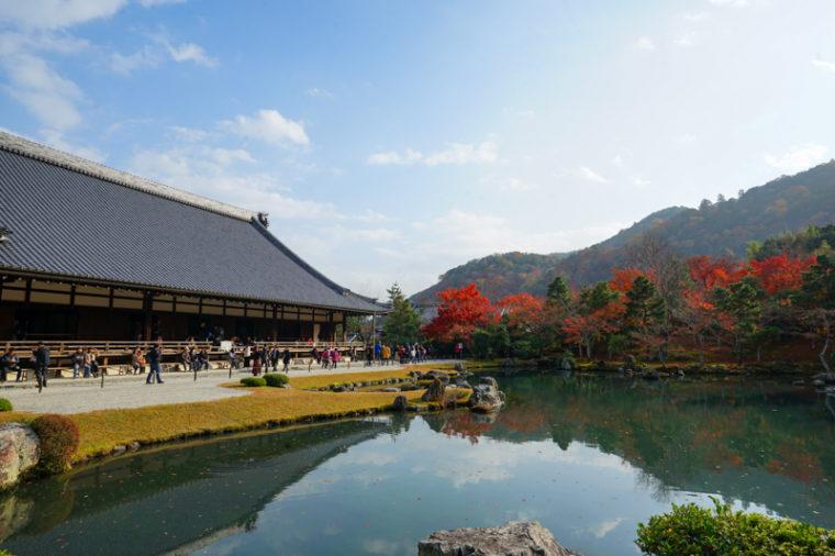 京都・嵐山の紅葉スポット「天龍寺」