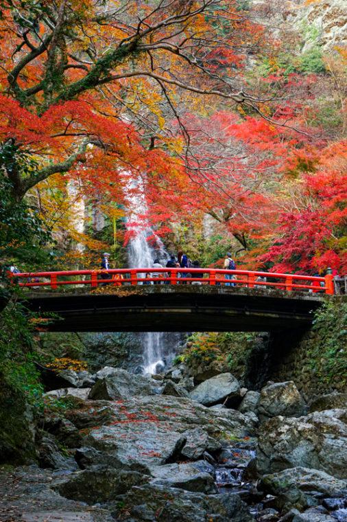 大阪のおすすめ絶景スポット「箕面大滝」