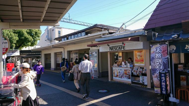 武庫之荘駅|武庫川 髭の渡しコスモス園