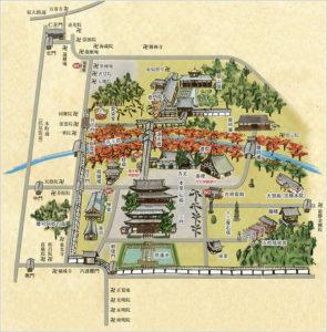 東福寺の境内図