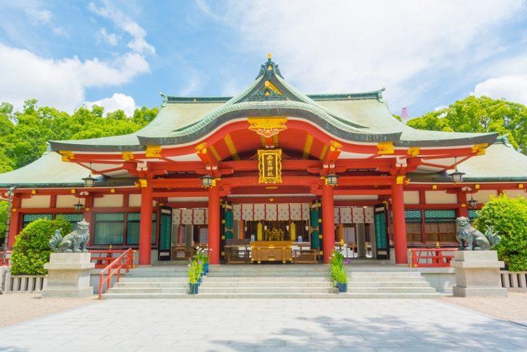 関西の初詣におすすめの神社|西宮神社
