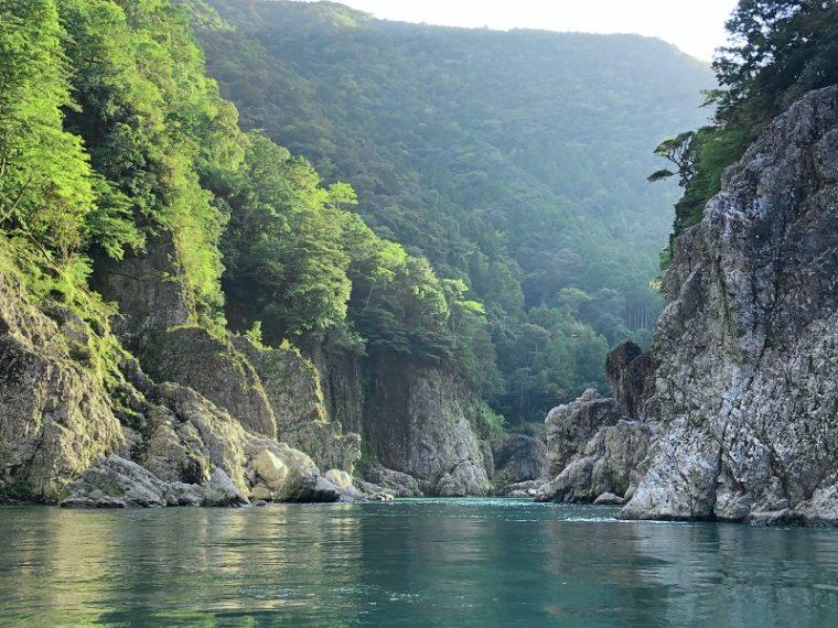 和歌山の絶景スポット「瀞峡」
