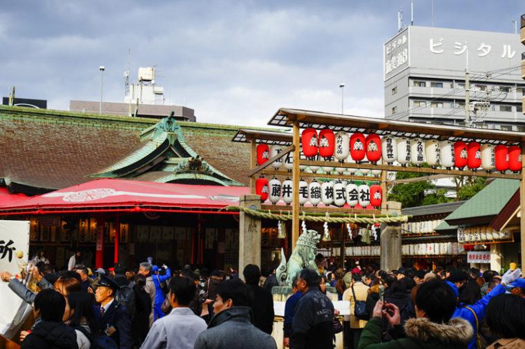 関西の初詣におすすめの神社|今宮戎神社