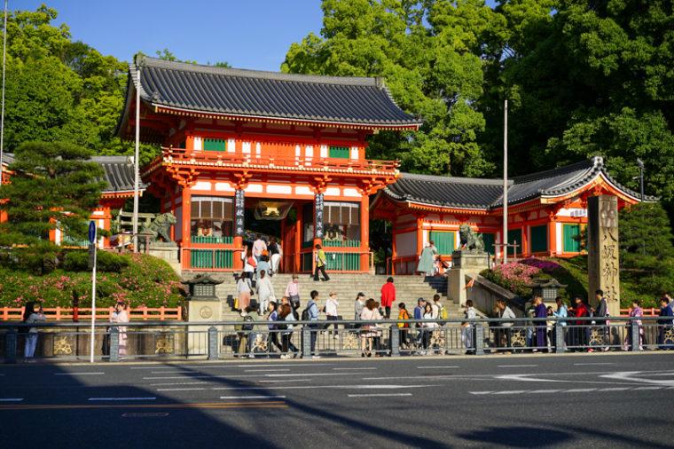 関西の初詣におすすめの神社|八坂神社