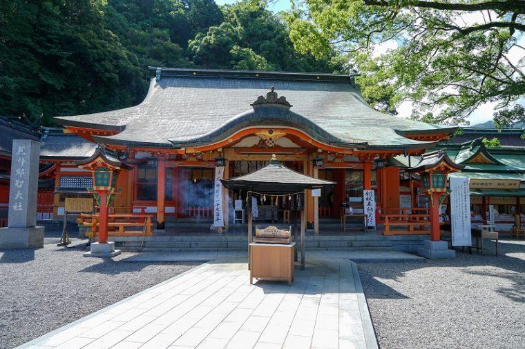 熊野那智大社|拝殿