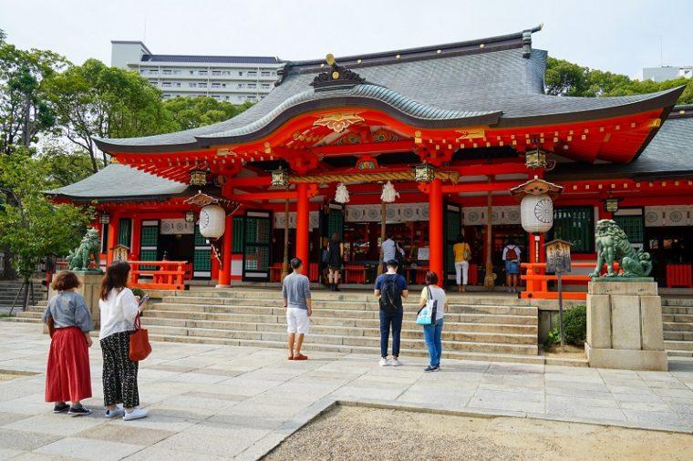 関西の初詣におすすめの神社|生田神社