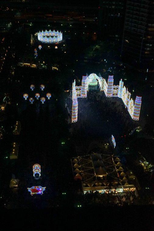 神戸ルミナリエ|神戸市役所展望ロビー