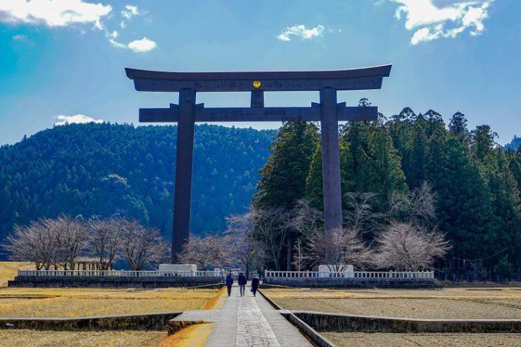 関西の初詣におすすめの神社|熊野本宮大社・大斎原