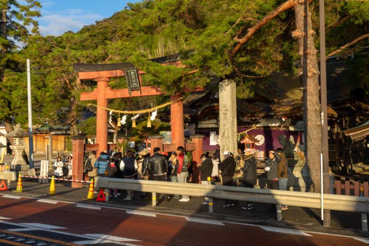 白髭神社の初詣