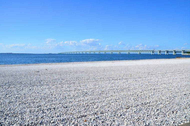 大阪のおすすめ絶景スポット「マーブルビーチ」