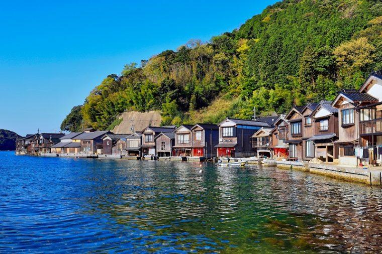 京都のおすすめ絶景スポット「伊根の舟屋」
