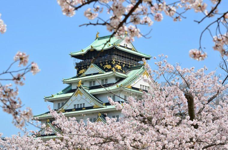 大阪の絶景「大阪城公園」