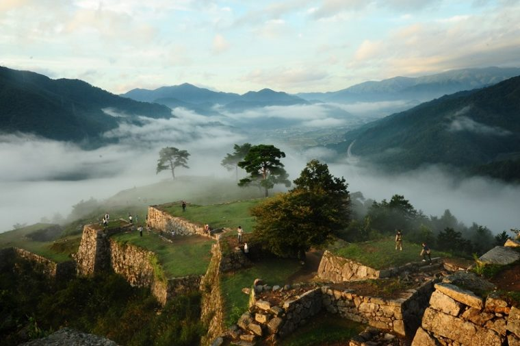 関西のおすすめ絶景スポット「竹田城跡」