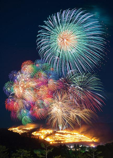 奈良のおすすめ絶景スポット「若草山焼き」