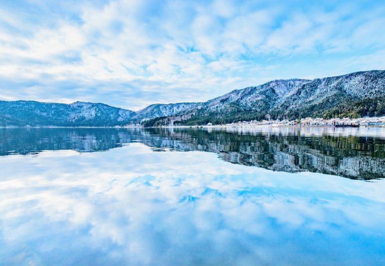 滋賀のおすすめの絶景「余呉湖」