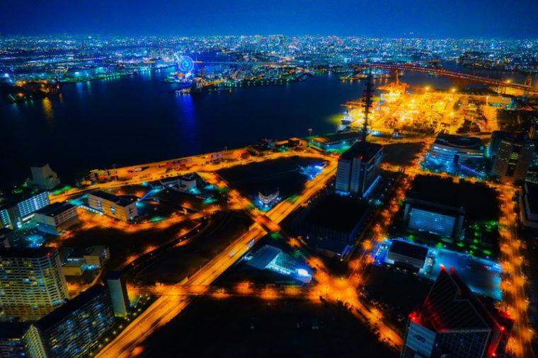 大阪の絶景「大阪府咲洲庁舎展望台 コスモタワー」