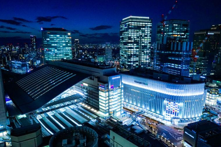 大阪の絶景「阪急グランドビル」