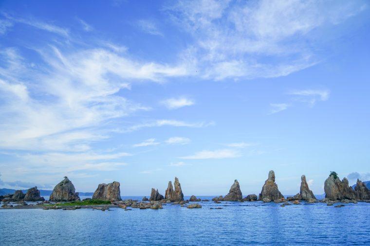 和歌山県の絶景|橋杭岩