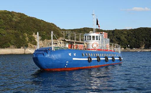 円月島|白浜海底観光船グラスボート