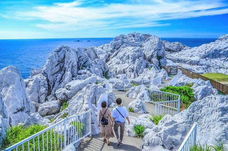 和歌山の絶景スポット「白崎海岸/白崎海洋公園」