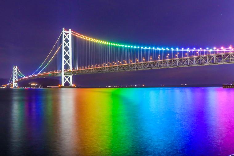 関西の橋の絶景おすすめ5選|明石海峡大橋