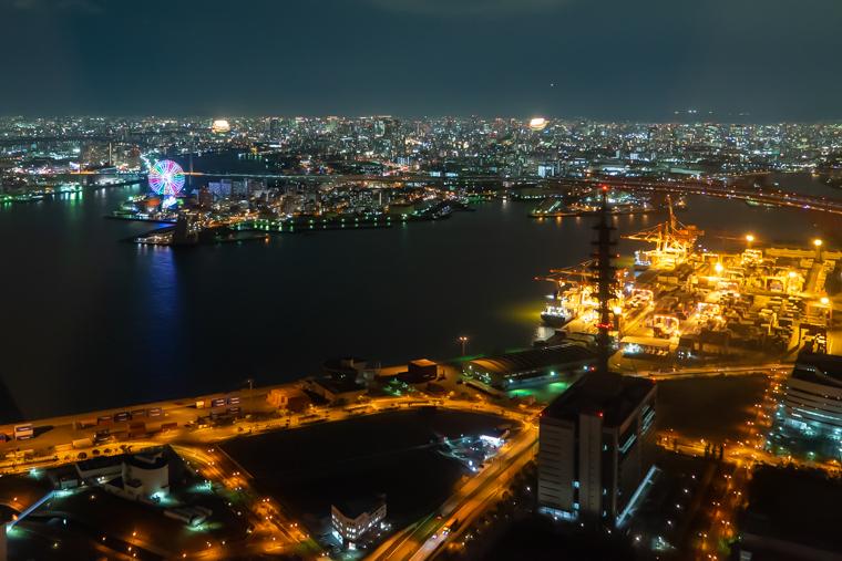 さきしまコスモタワー展望台からの夜景