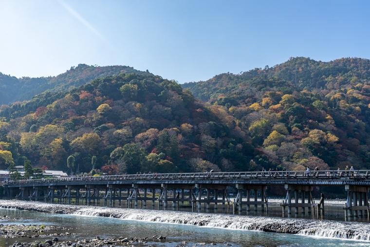 関西の橋の絶景おすすめ5選|渡月橋