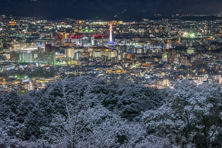 将軍塚からの夜景